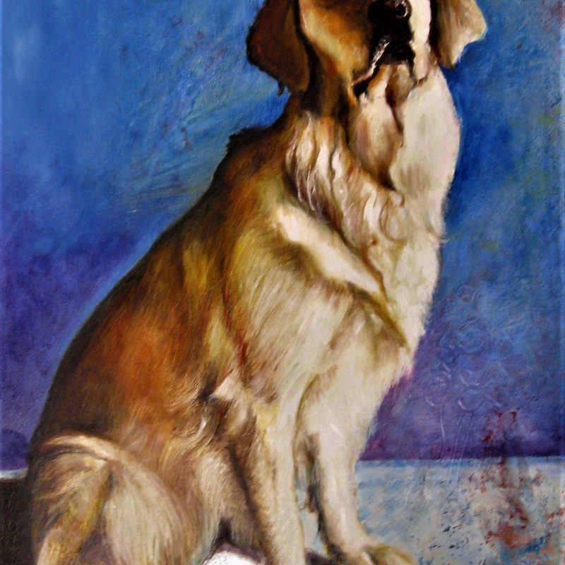 Portrait of another dog