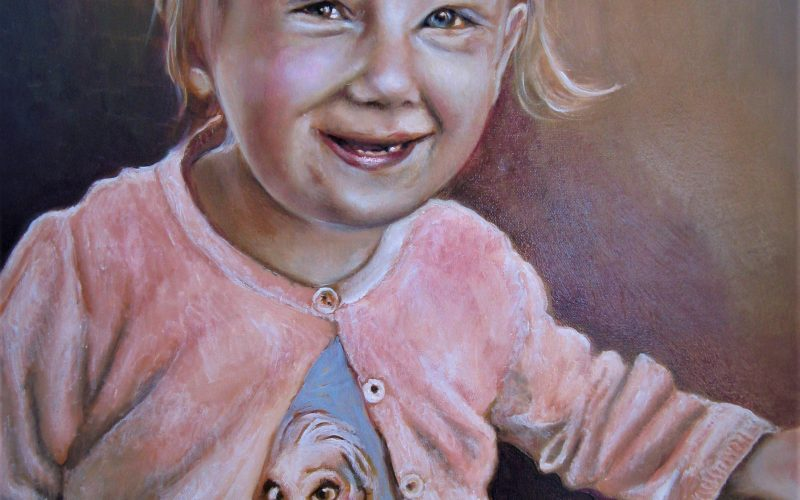 Portrait of a Danish Child