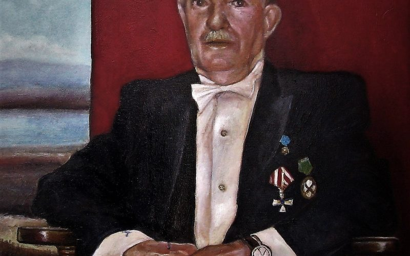 """The Old General"", Portrait of a Danish man"