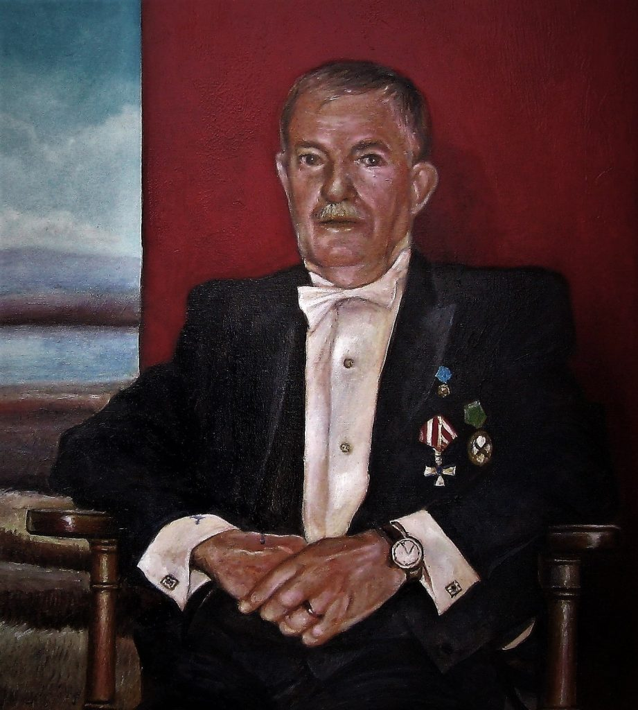 """""""The Old General"""", Portrait of a Danish man"""